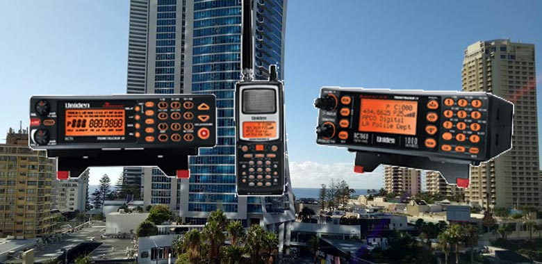 Gold Coast QLD Radio Scanner & Scanning Frequencies