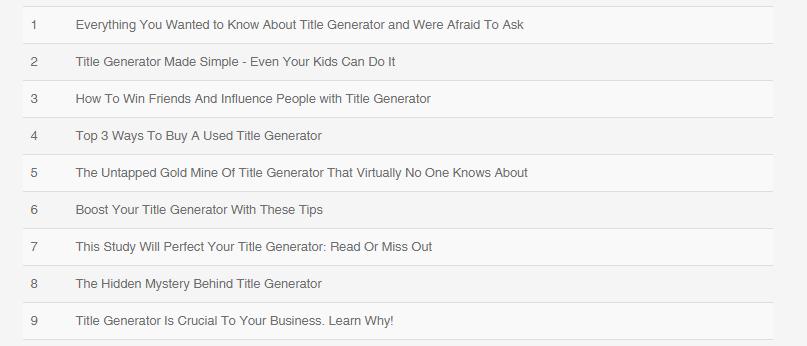 title generator example 1